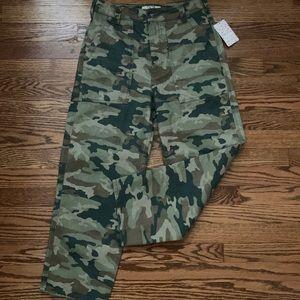 Free people camo pants